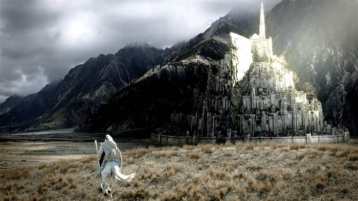 Architects seek $2.9 billion to build 'Lord of the Rings' city Minas Tirith in U.K.