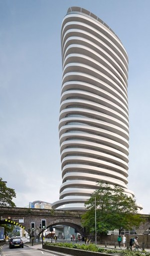 Barratt London to start twisting tower Ι Construction Enquirer