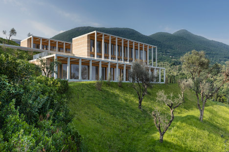 Chipperfield references lemon houses with Lake Garda villas