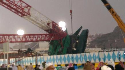 107 dead after crane collapse at Mecca's Grand Mosque