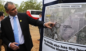 NT government paid $56m by Coalition 'to dig a hole and fill it in' at hospital site