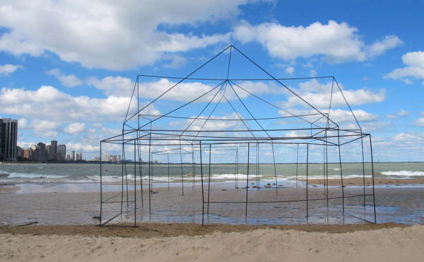 """FitzSimons's installation is meant to explore how we """"view, think and dream"""" about homes"""