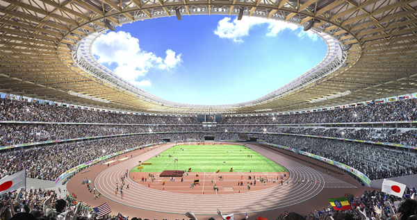 Japan Picks New Olympic Stadium Design